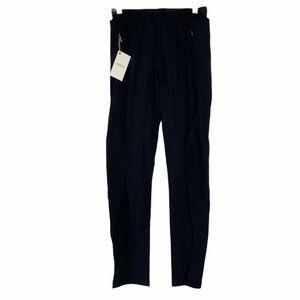 Paskho black stretch travel pants size Medium
